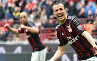 AC Milan 3-3 Frosinone: Menez penalty denies strugglers