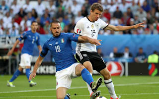 Italy go out with heads held high, says emotional Bonucci