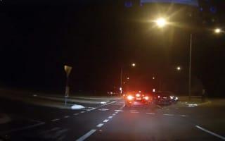 Good Samaritan stops at car crash, has vehicle stolen