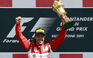 Alonso praise for Scuderia on British Grand Prix anniversary