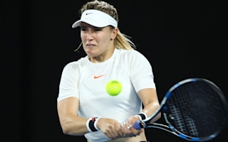 Bouchard bows out as Jankovic advances