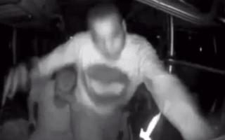 Video: Greyhound bus driver randomly attacked, causing him to crash