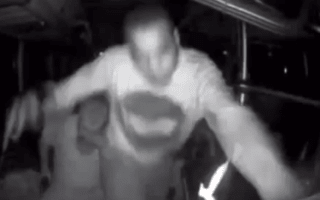 Video: Greyhound bus driver randomly attacked, causing him to crash
