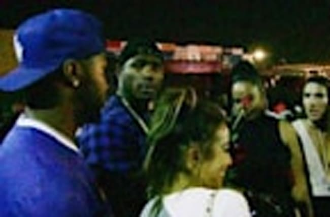 Yasiel Puig -- Clubbin' In Hollywood ... After Dodgers Clinch N.L. West