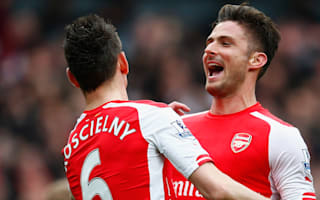 Koscielny backs Giroud to earn spot