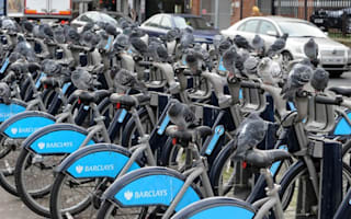 Commuters turned off Boris' bikes after they're covered in pigeon poo
