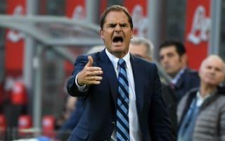 De Boer criticises Inter players for letting lead slip