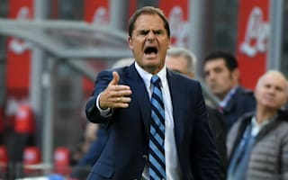 De Boer criticises Inter players for letting lead slip