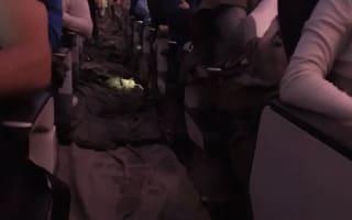 British Airways cabin floods after water pipe bursts