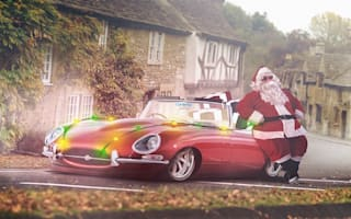 Here's what Santa would drive if he didn't have reindeer