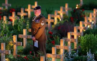 Nation falls silent to honour Somme sacrifice