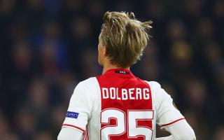 Ajax 2 Copenhagen 0 (3-2 agg): Traore and Dolberg seal quarter-final spot
