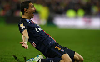 Paris Saint-Germain 2 Lille 1: Di Maria winner retains Coupe de la Ligue after Rabiot red