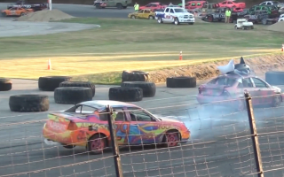 Backwards drag racing is a hilarious new motorsport