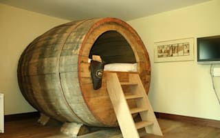 Night in a beer barrel, anyone? Hotel installs quirky new beds