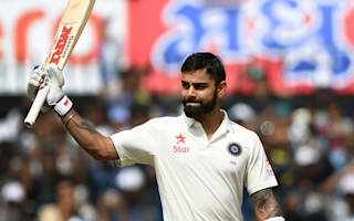 Kohli revels in India's series triumph