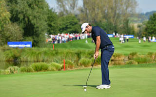 Levy leads European Open after round one resumption