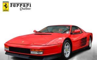 Low-mileage Ferrari Testarossa goes on sale in Canada