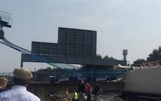 M20 in Kent closed after bridge collapse