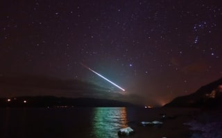 'Fireball' meteor lights up sky over Loch Ness