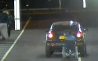 Video: Driver banned after pulling friend along in wheelchair