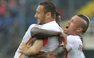 Spalletti and Totti present united front at Roma