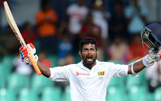 Silva century puts Sri Lanka in charge