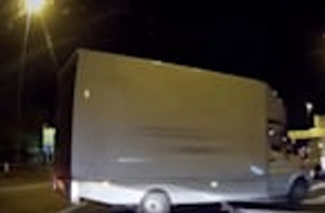 Watch: Van attempts dangerous manoeuvre on North Circular slip road
