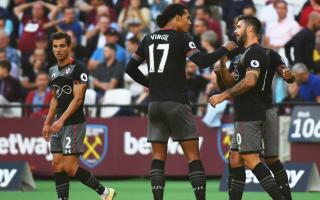 West Ham 0 Southampton 3: Defensive woes pile pressure on Bilic