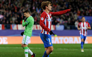 Atletico Madrid 2 PSV 0: Griezmann and Gameiro cement top spot for Simeone's men