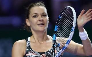 Radwanska beats Pliskova to semi-final spot