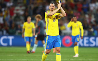 Ibrahimovic 'very proud' of Sweden career