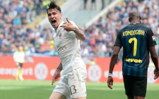 Inter 2 AC Milan 2: Romagnoli and Zapata snatch stunning derby draw