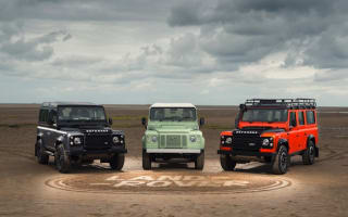 Land Rover to sell upmarket final Defender limited editions