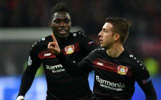 Bayer Leverkusen 3 Monaco 0: Hosts retain unbeaten record with routine win