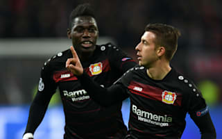 Bayer Leverkusen 3 Monaco 0: Hosts retain unbeaten record with routine win