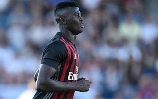 Niang gets timely Montella backing