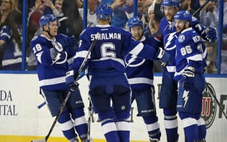 Lightning battle to win, Fabbri nets hat-trick