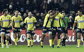 Clinical Clermont regain top spot, Huget turnaround sinks Stade Francais