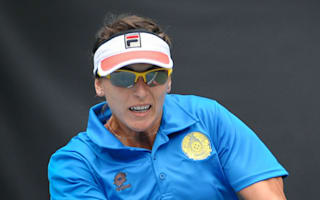 Shvedova's strong run ends in withdrawal