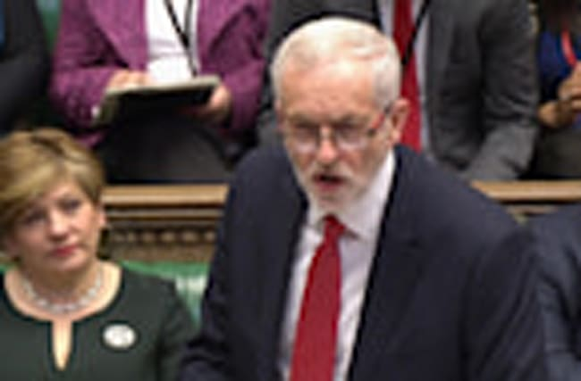 May and Corbyn face off in last PMQs before British election