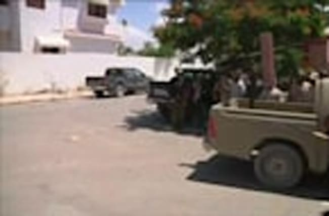 Libyan forces fight Islamic State in Sirte.
