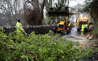 Power restored to storm-hit homes