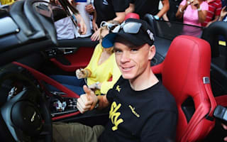 Chris Froome gifted glorious Jaguar F-Type for Tour de France win