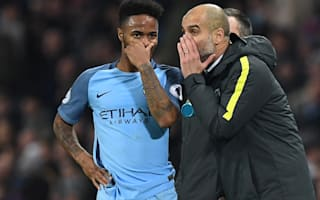 Guardiola hopes Sterling maintains form