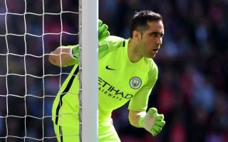 Bravo out for season as Guardiola loses Aguero & Silva for Palace