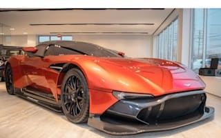 Rare Aston Martin Vulcan goes on sale in America