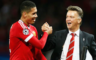 Smalling now known as Pele - Van Gaal