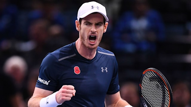 Nervy Murray on brink of history after Berdych win