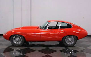 Modified Jaguar E-Type goes up for sale